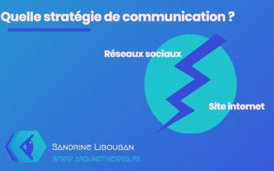 Quelle stratégie de communication : réseaux sociaux ou site internet ?