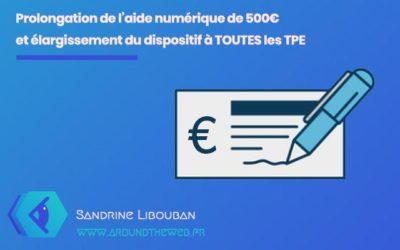Comment obtenir l'aide numérique de 500 Euros pour créer votre site internet ?